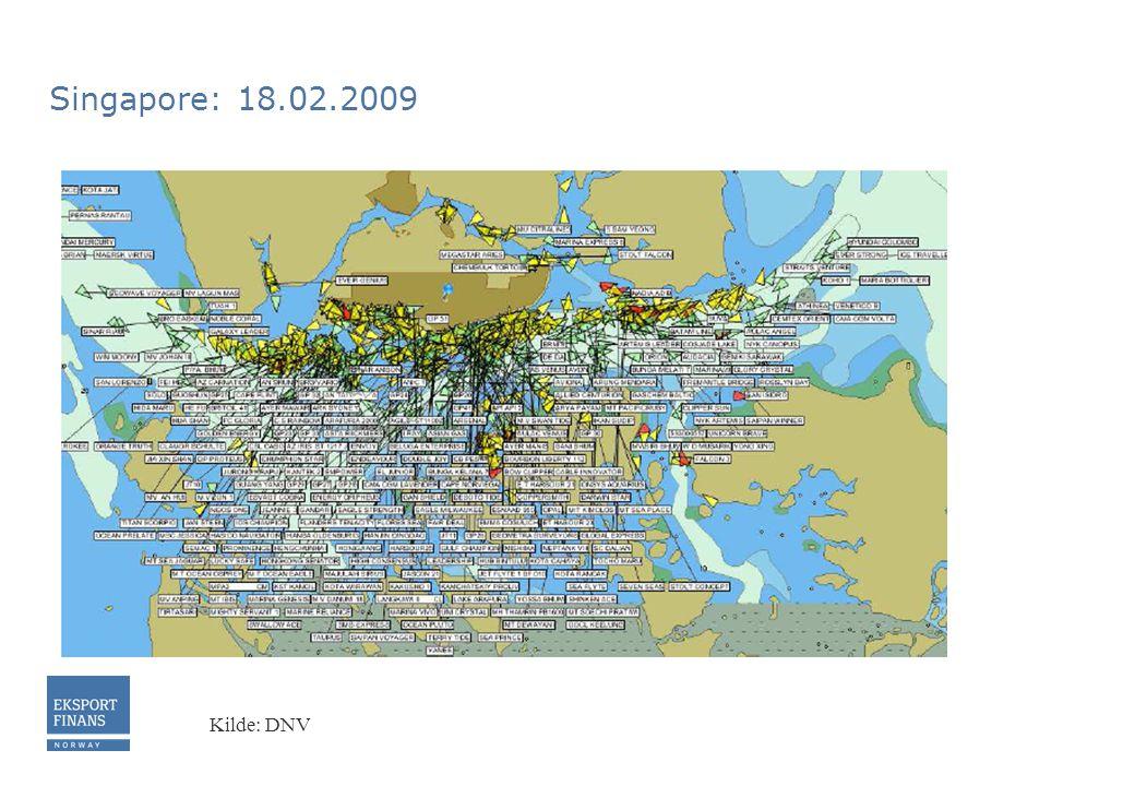 Singapore: 18.02.2009 Kilde: DNV