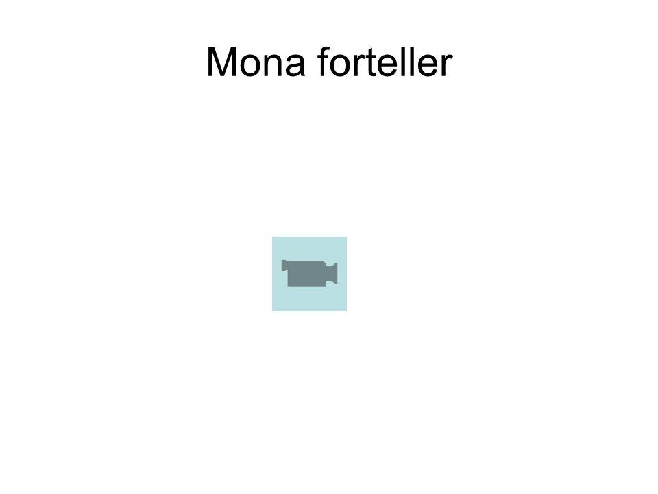 Mona forteller
