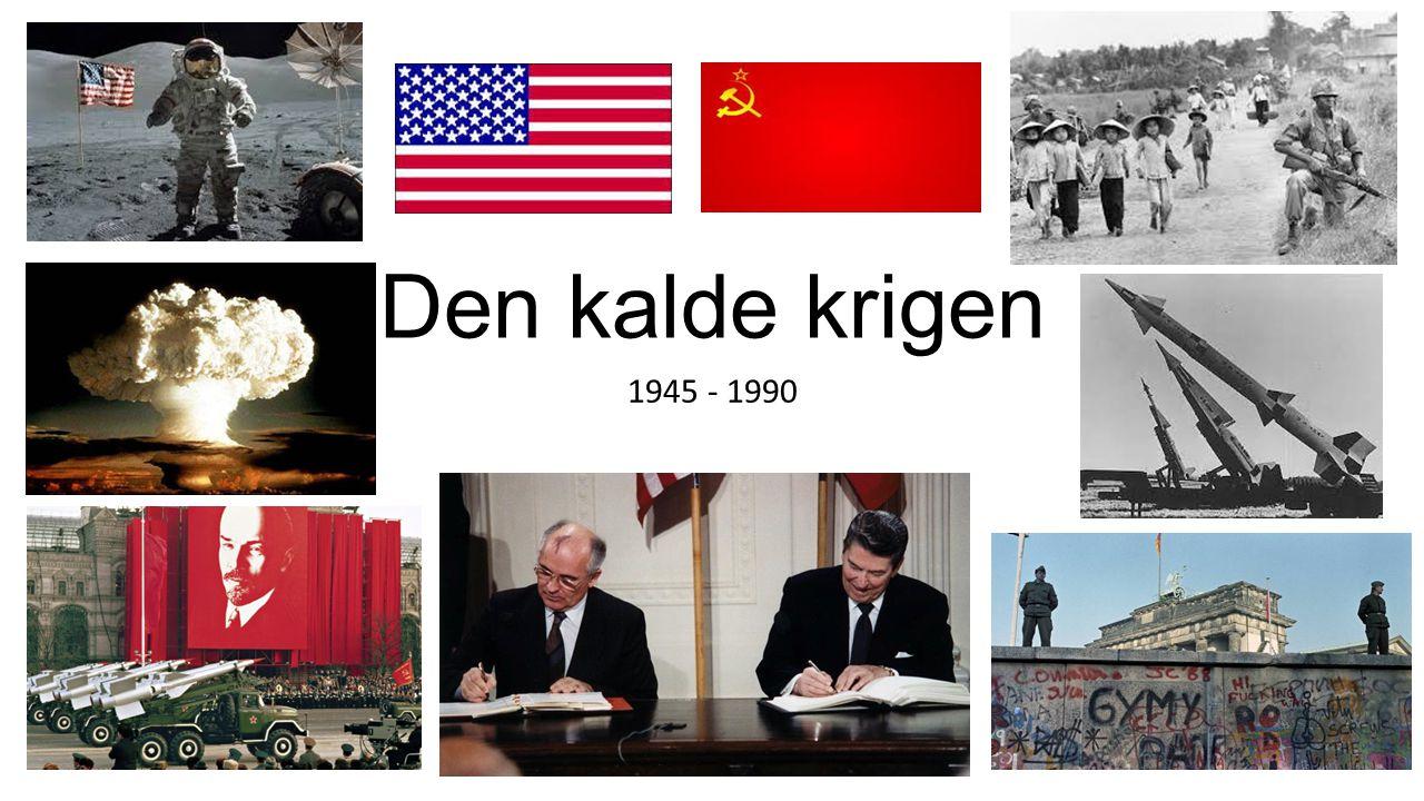 Todelt Europa Dette førte til et todelt Europa ‐Østblokken (Kommunistisk) ‐Vestblokken (kapitalistisk) USA/Vestblokken (Kapitalisme): var opptatt av innflytelse i Europa for at verdenshandelen skulle flyte fritt, etter markedsøkonomisk prinsipper.