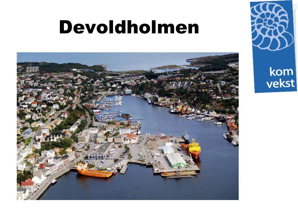 Kristiansund og Nordmøre Havn IKS Godt arbeid har resultert i at Devoldholmen er foreslått som stamnetthavn.