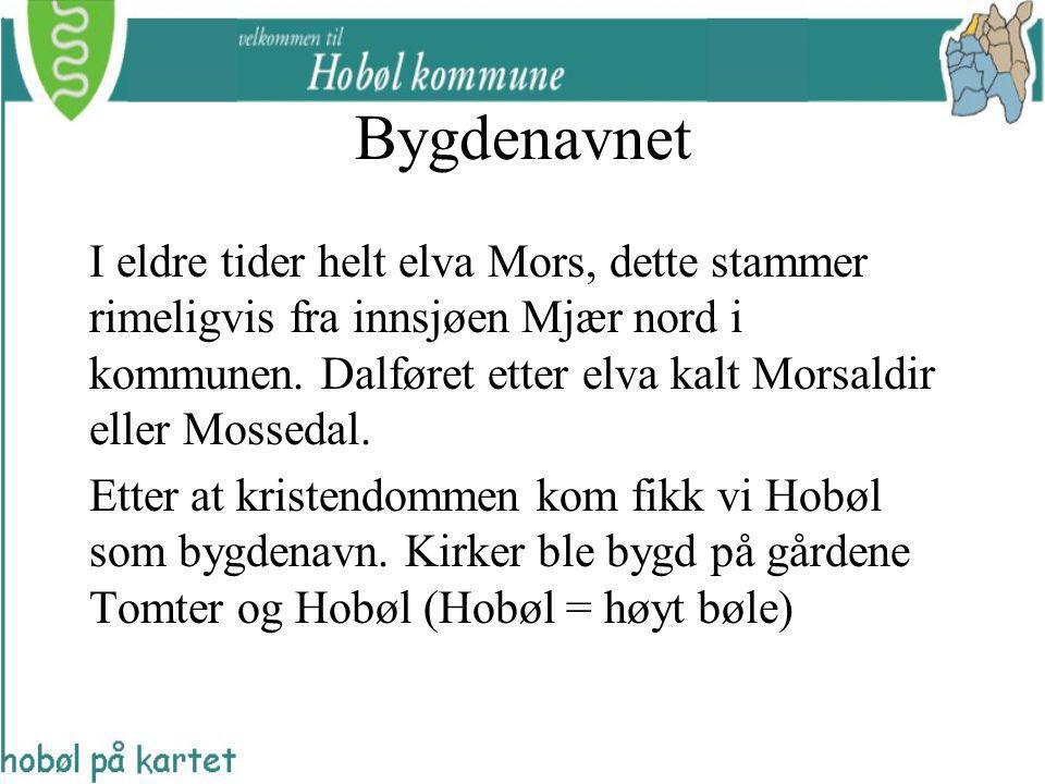 I eldre tider helt elva Mors, dette stammer rimeligvis fra innsjøen Mjær nord i kommunen. Dalføret etter elva kalt Morsaldir eller Mossedal. Etter at