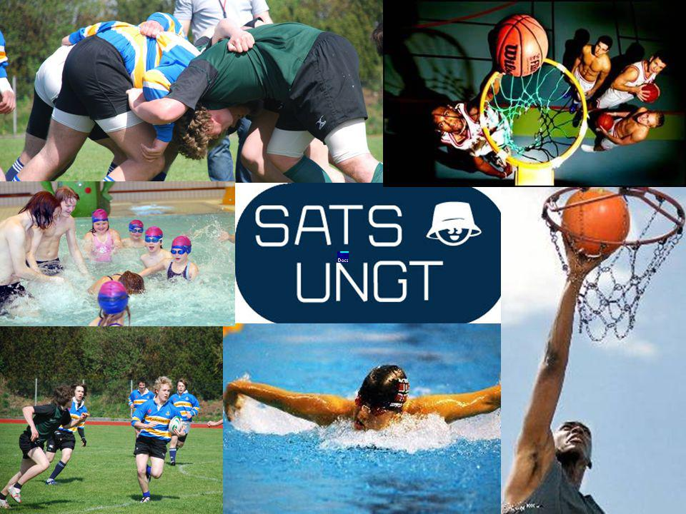 Hovedtiltak i SATS Ungt Sats Ungt veileder opplæring Startmøte – Sats Ungt