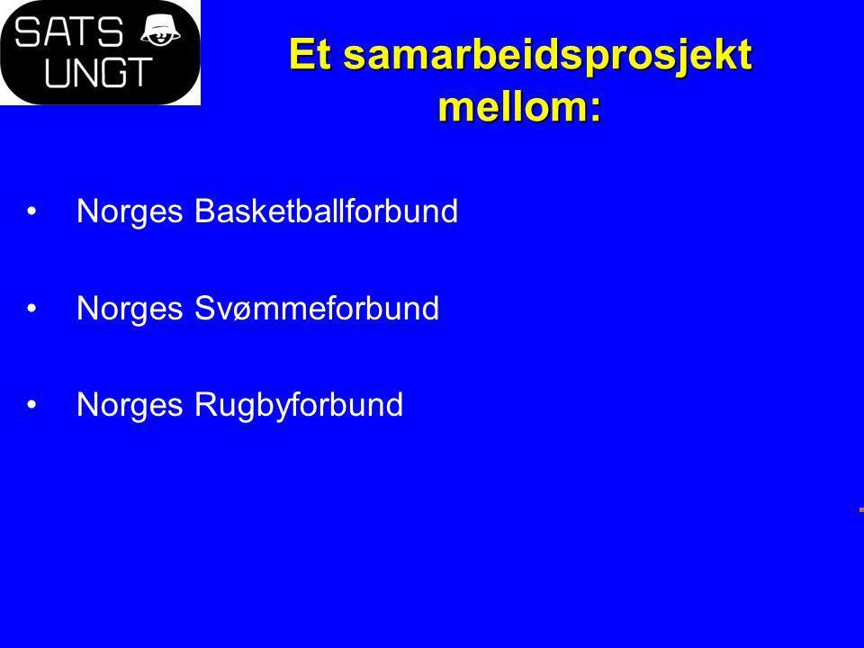 Mål Engasjere flere ungdommer til varig aktivitet i norsk idrett som aktiv, trener, leder og dommer.