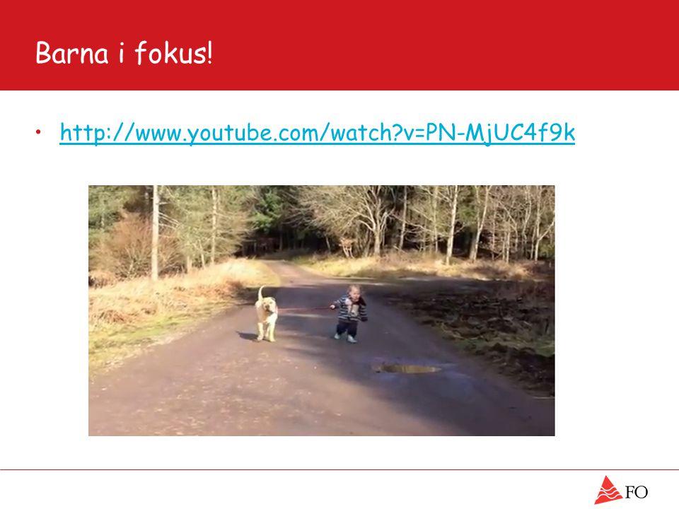 Barna i fokus! http://www.youtube.com/watch?v=PN-MjUC4f9k