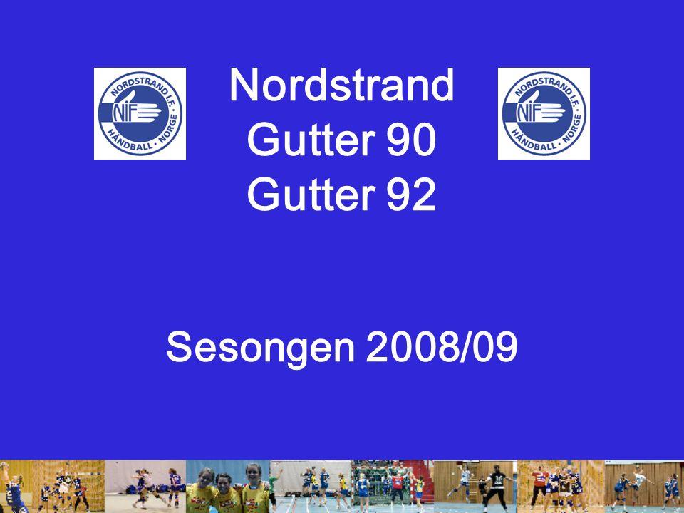 Nordstrand Gutter 90 Gutter 92 Sesongen 2008/09