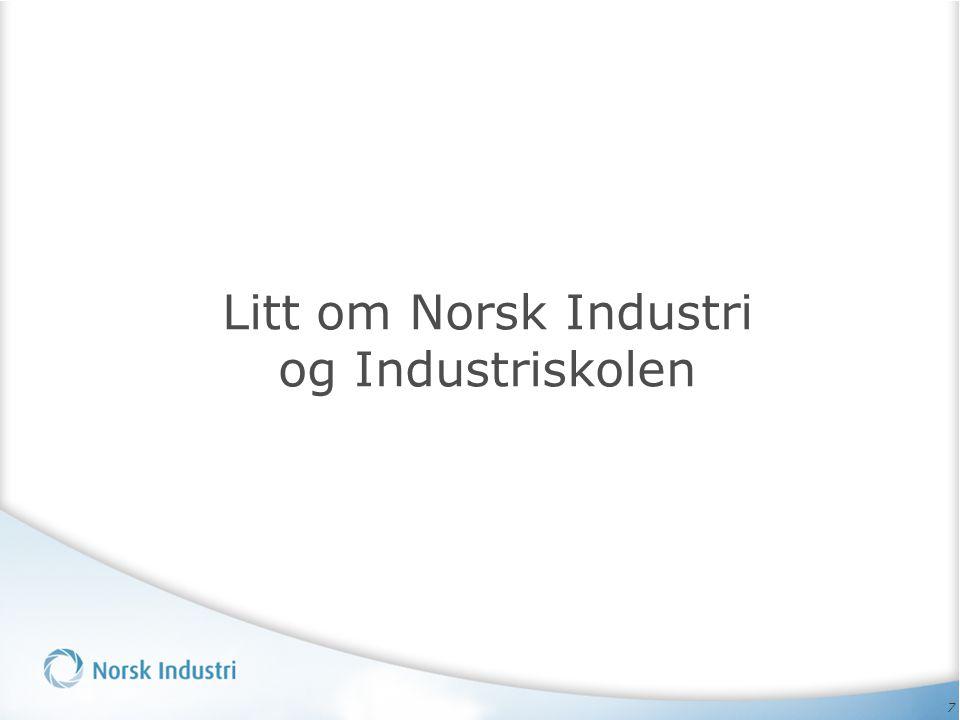 7 Litt om Norsk Industri og Industriskolen