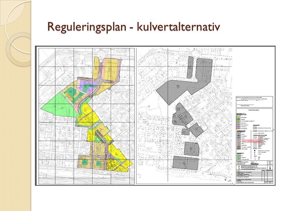Reguleringsplan - kulvertalternativ