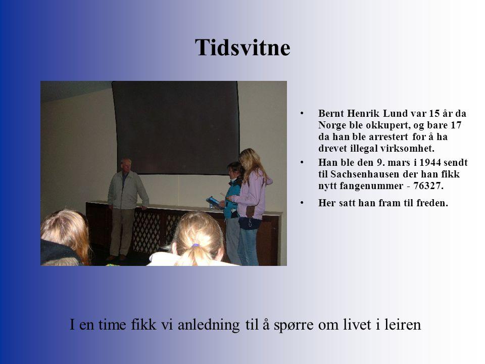 Tidsvitne Bernt Henrik Lund var 15 år da Norge ble okkupert, og bare 17 da han ble arrestert for å ha drevet illegal virksomhet.