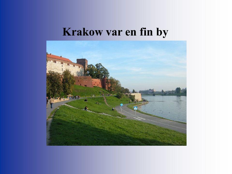 Krakow var en fin by
