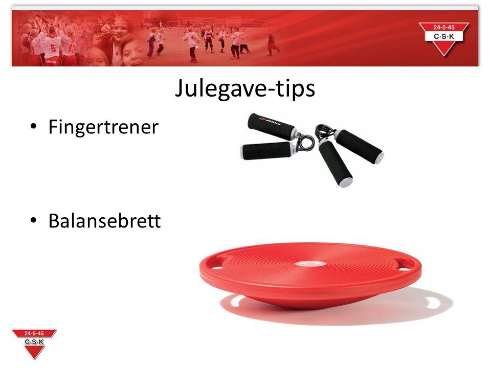 Julegave-tips Fingertrener Balansebrett