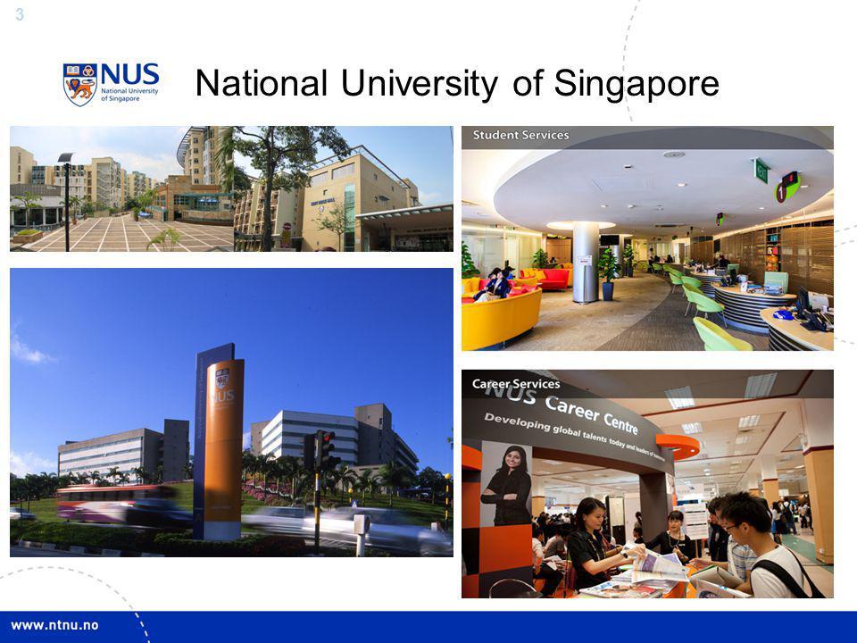 3 National University of Singapore