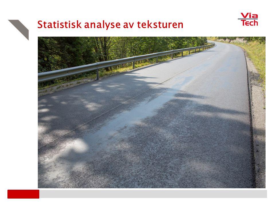 Statistisk analyse av teksturen