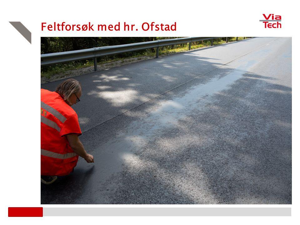 Feltforsøk med hr. Ofstad