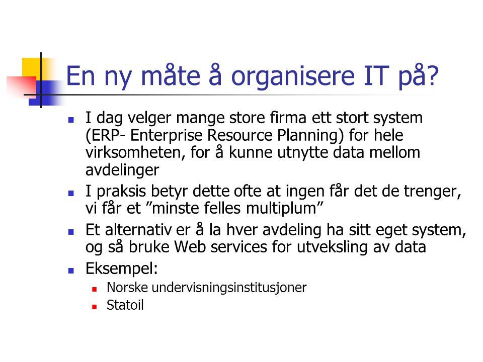 En ny måte å organisere IT på.