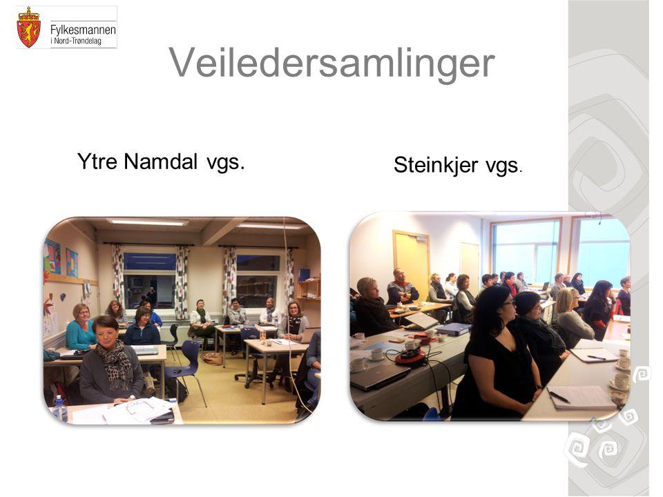 Veiledersamlinger Ytre Namdal vgs. Steinkjer vgs.