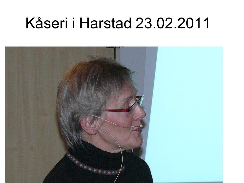 Kåseri i Harstad 23.02.2011