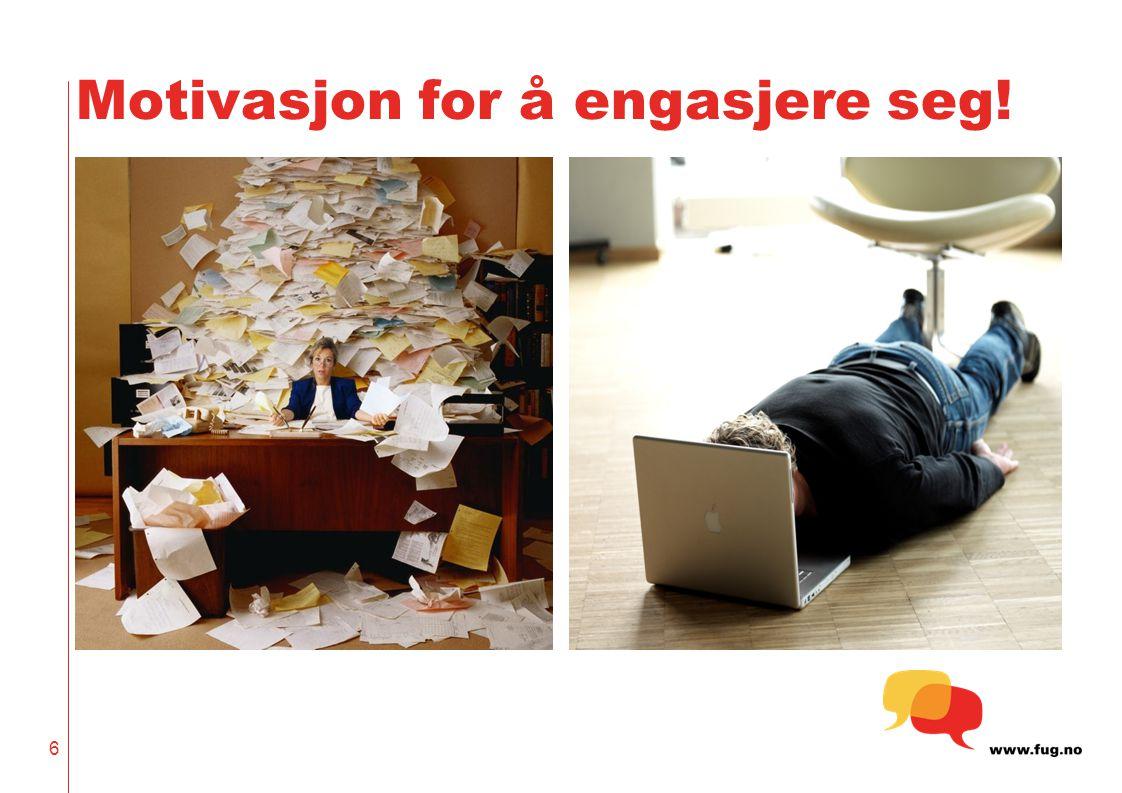 6 Motivasjon for å engasjere seg!