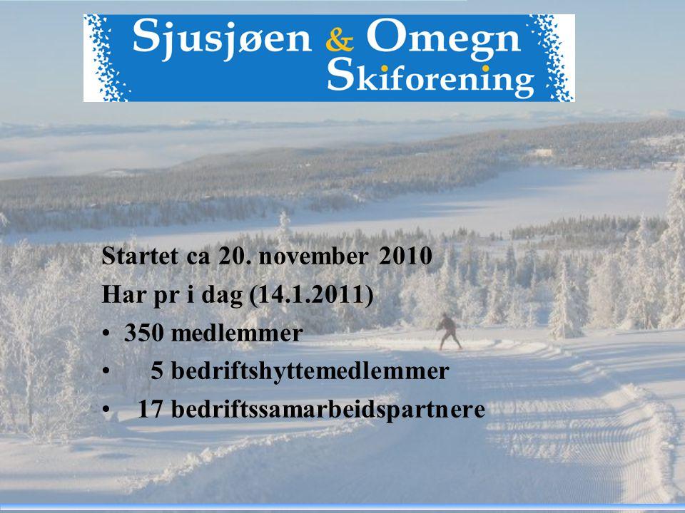 Sjusjøen og omegn tilbyr i dag: - 300 km.preparerte skiløyper - utallige km.