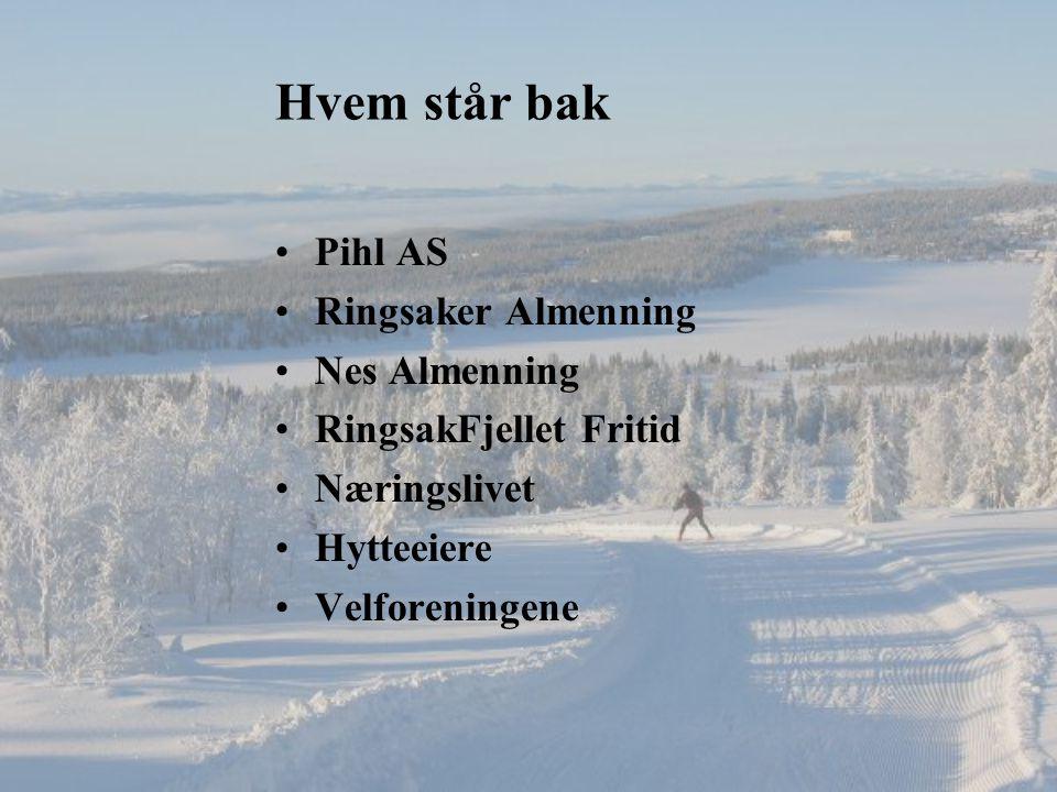 Hvem står bak Pihl AS Ringsaker Almenning Nes Almenning RingsakFjellet Fritid Næringslivet Hytteeiere Velforeningene