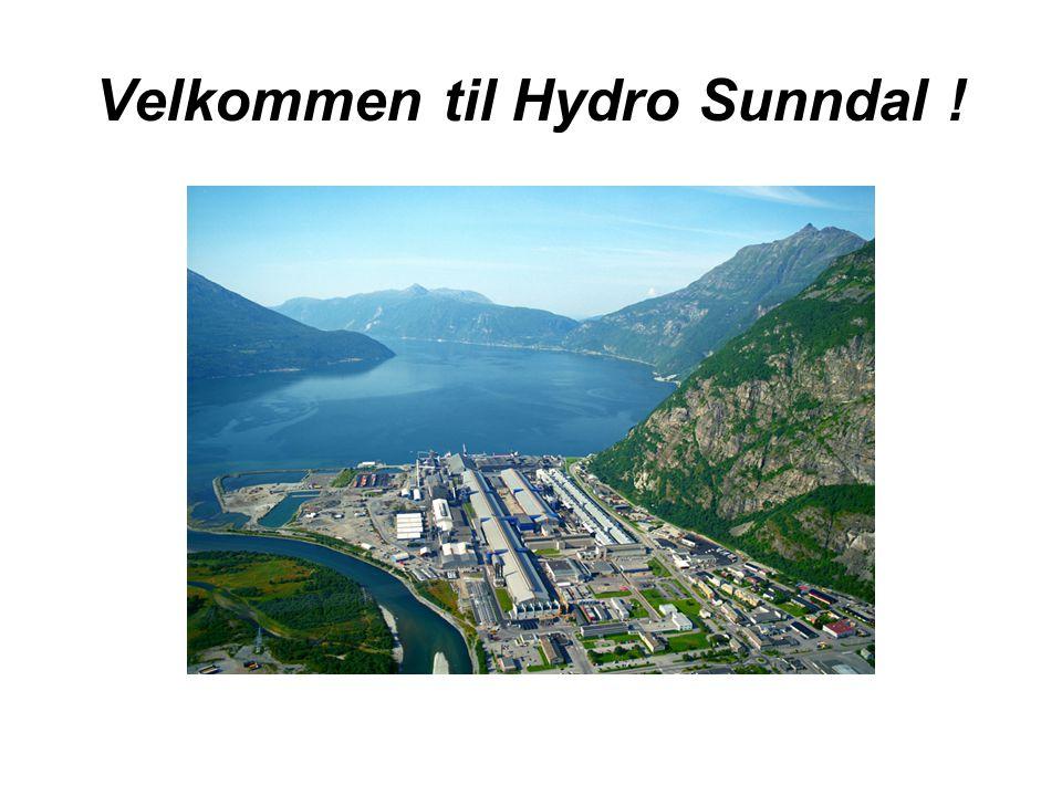 Velkommen til Hydro Sunndal !