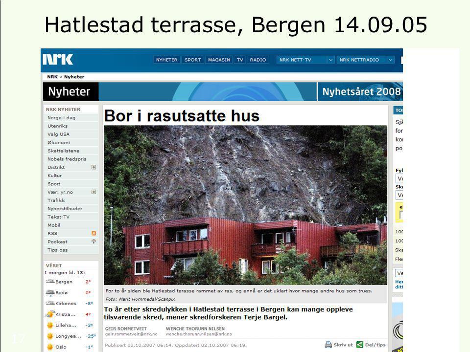 17 Hatlestad terrasse, Bergen 14.09.05