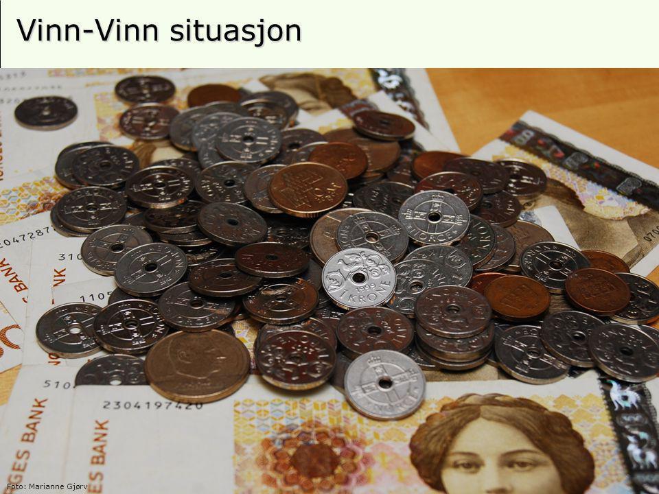 22 Vinn-Vinn situasjon Foto: Marianne Gjørv