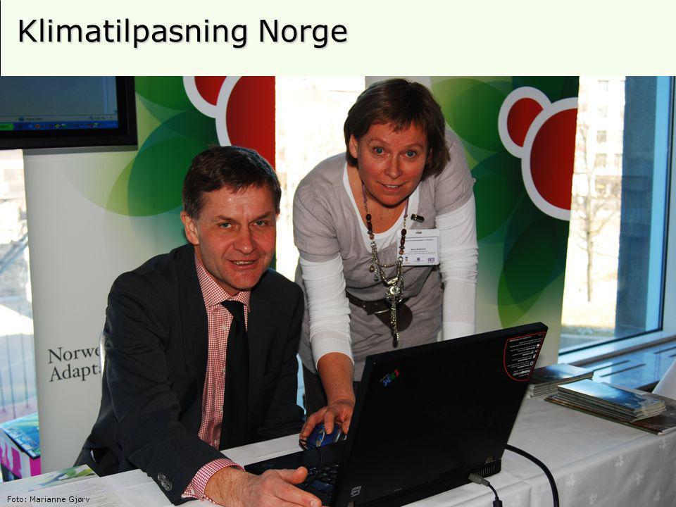 24 Klimatilpasning Norge Foto: Marianne Gjørv