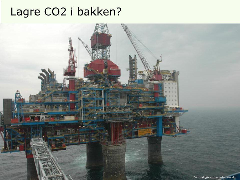 9 Lagre CO2 i bakken Foto: Miljøverndepartementet