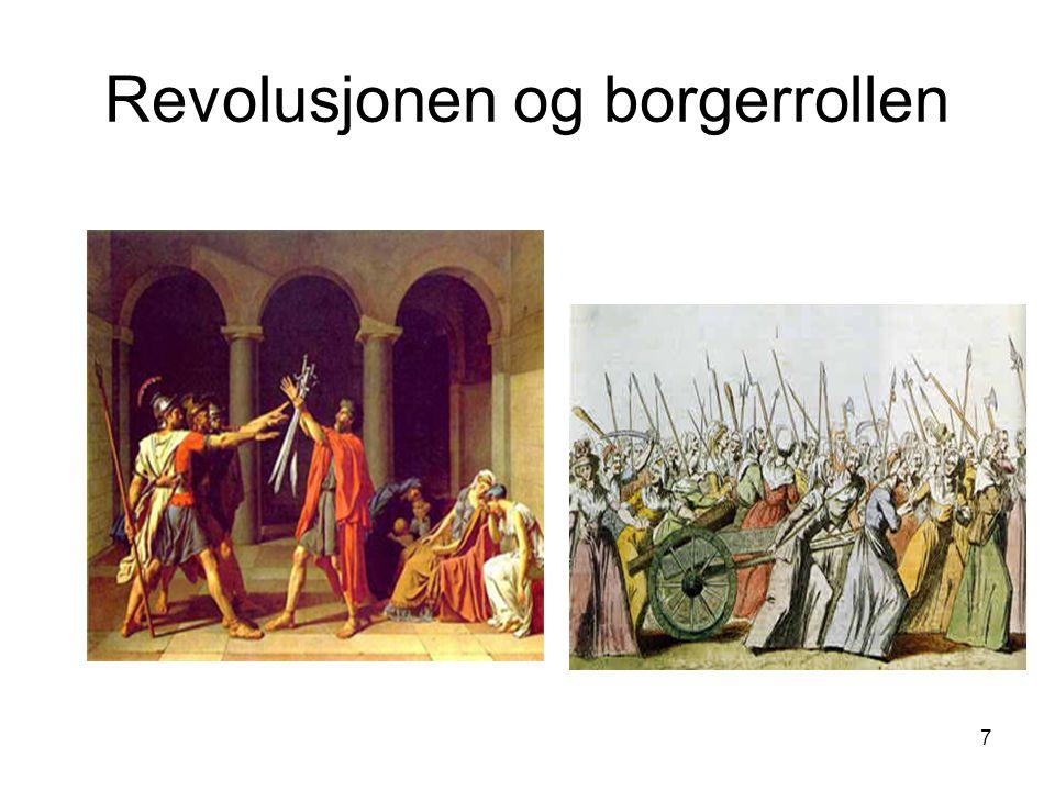 7 Revolusjonen og borgerrollen
