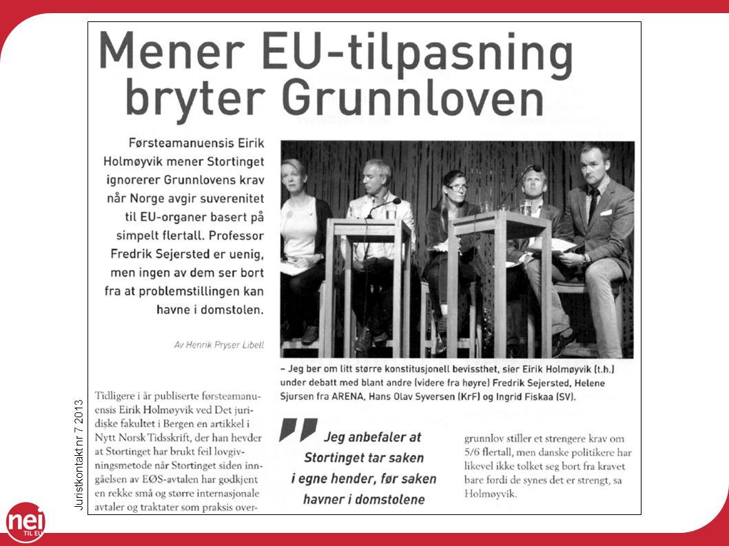 Juristkontakt nr 7 2013
