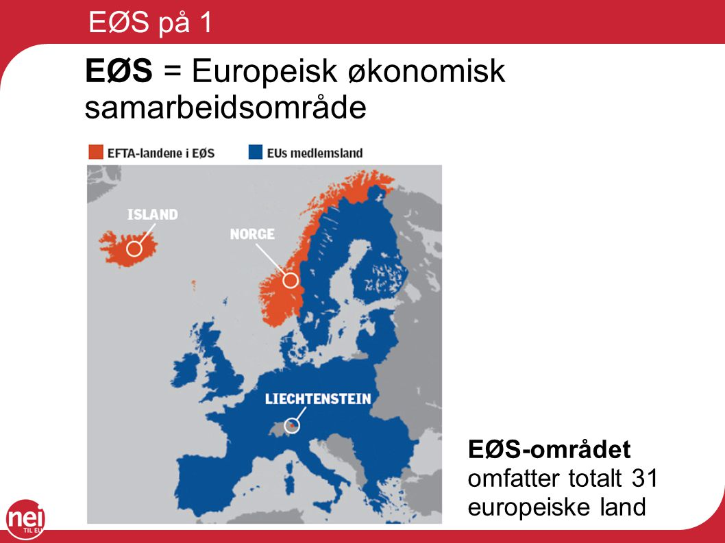 EØS er et demokrati- problem