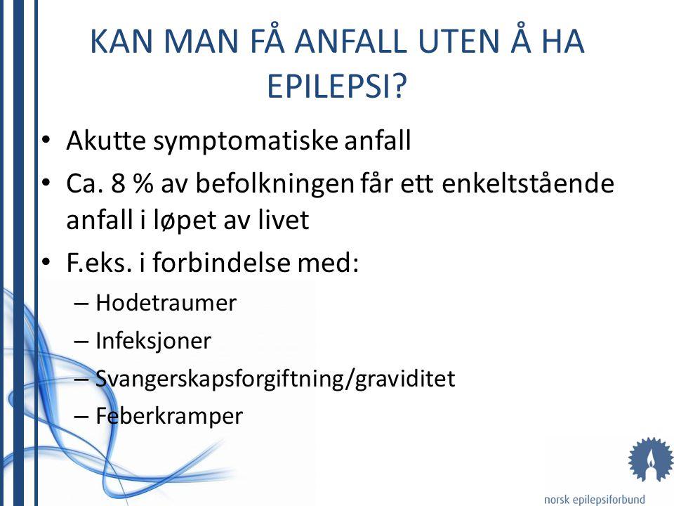 Hva er epilepsi.