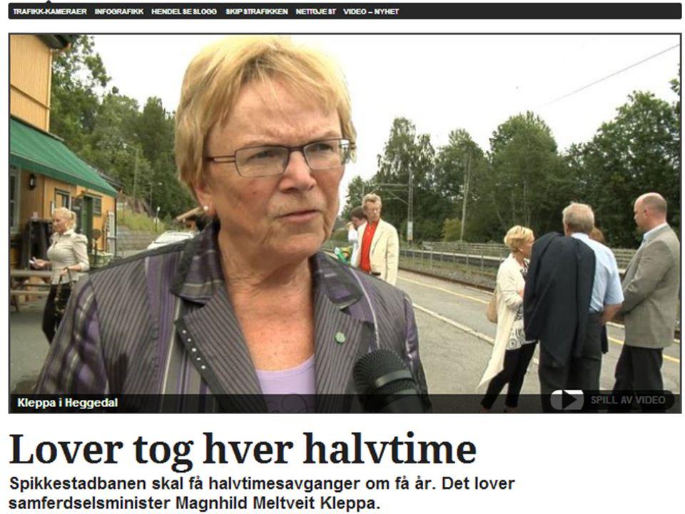 Østlandsstjerna En gylden mulighet til miljøvennlig kollektivtrafikk på eksisterende spor