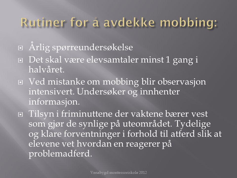  Mobbing på Internett og mobiltelefon er annerledes enn ansikt til ansikt.