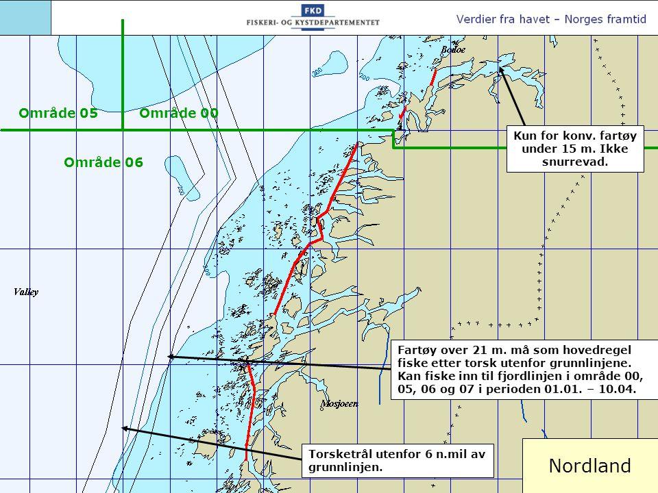 Sørlige Nordland og Nord-Trøndelag Fartøy over 21 m.