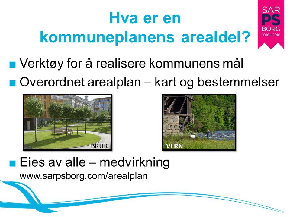 Hva er en kommuneplanens arealdel? ■Verktøy for å realisere kommunens mål ■Overordnet arealplan – kart og bestemmelser ■Eies av alle – medvirkning www