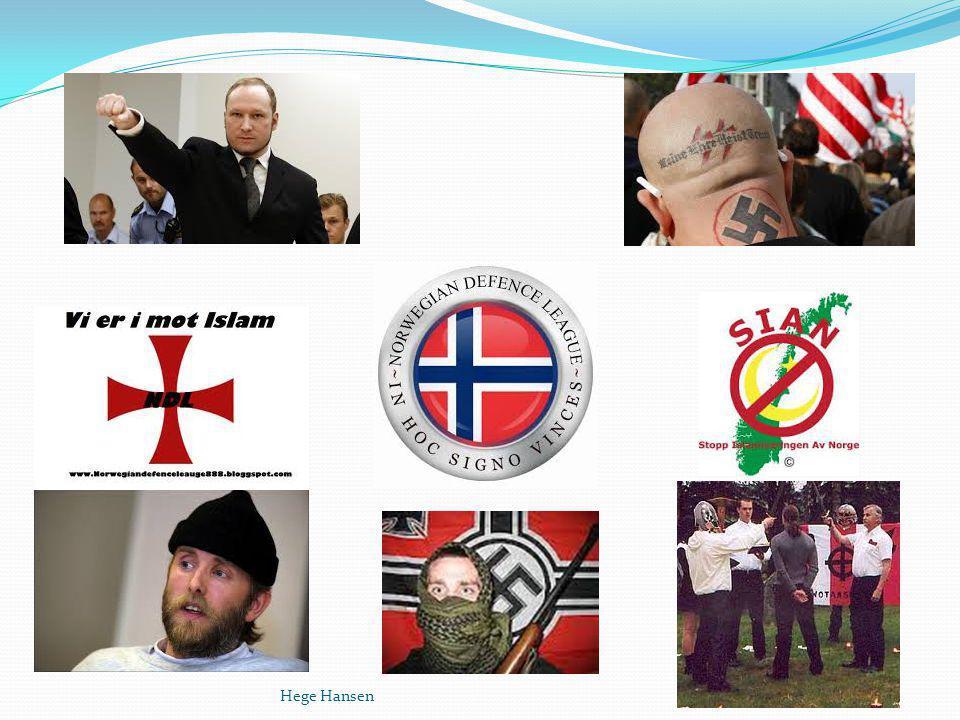 Konspirasjonsteorier Hege Hansen