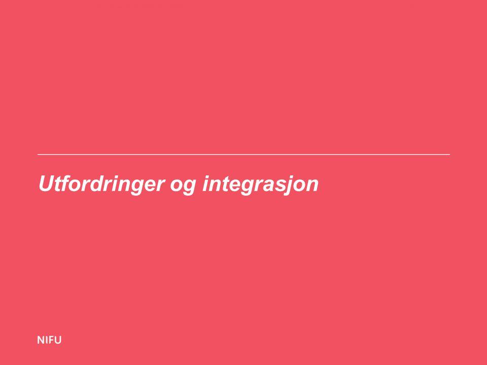 Utfordringer og integrasjon 21-11-14Hva vet vi om utenlandsstudentene i Norge