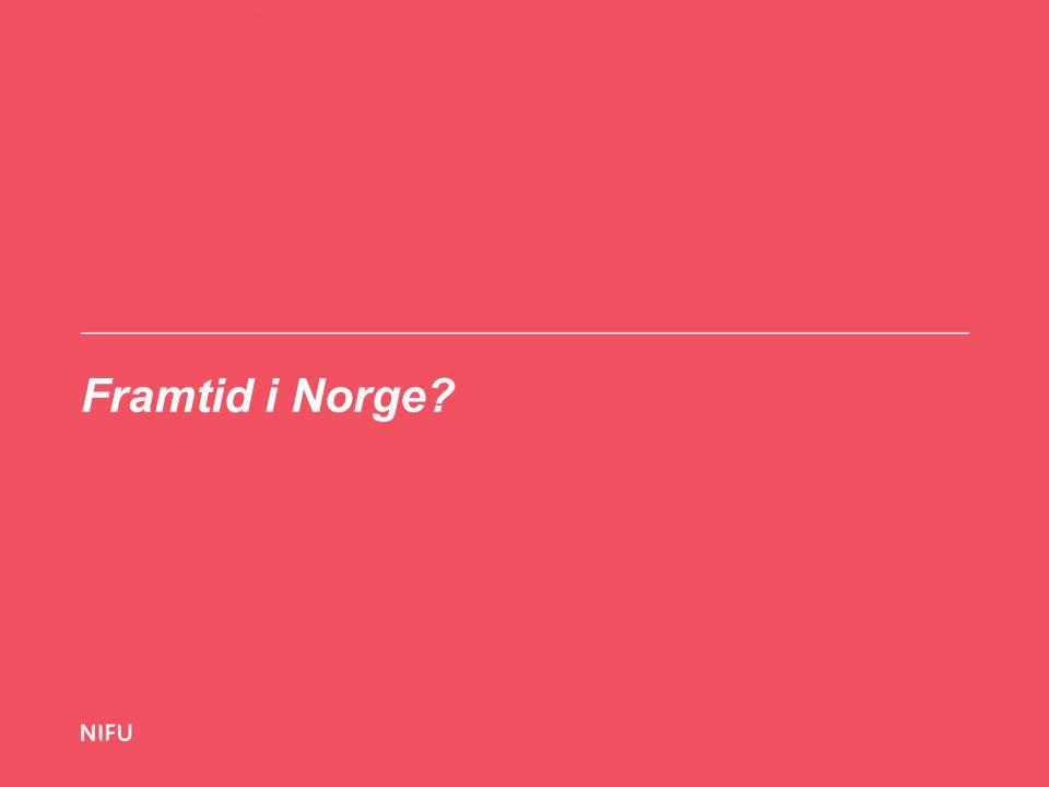 Framtid i Norge 21-11-14Hva vet vi om utenlandsstudentene i Norge