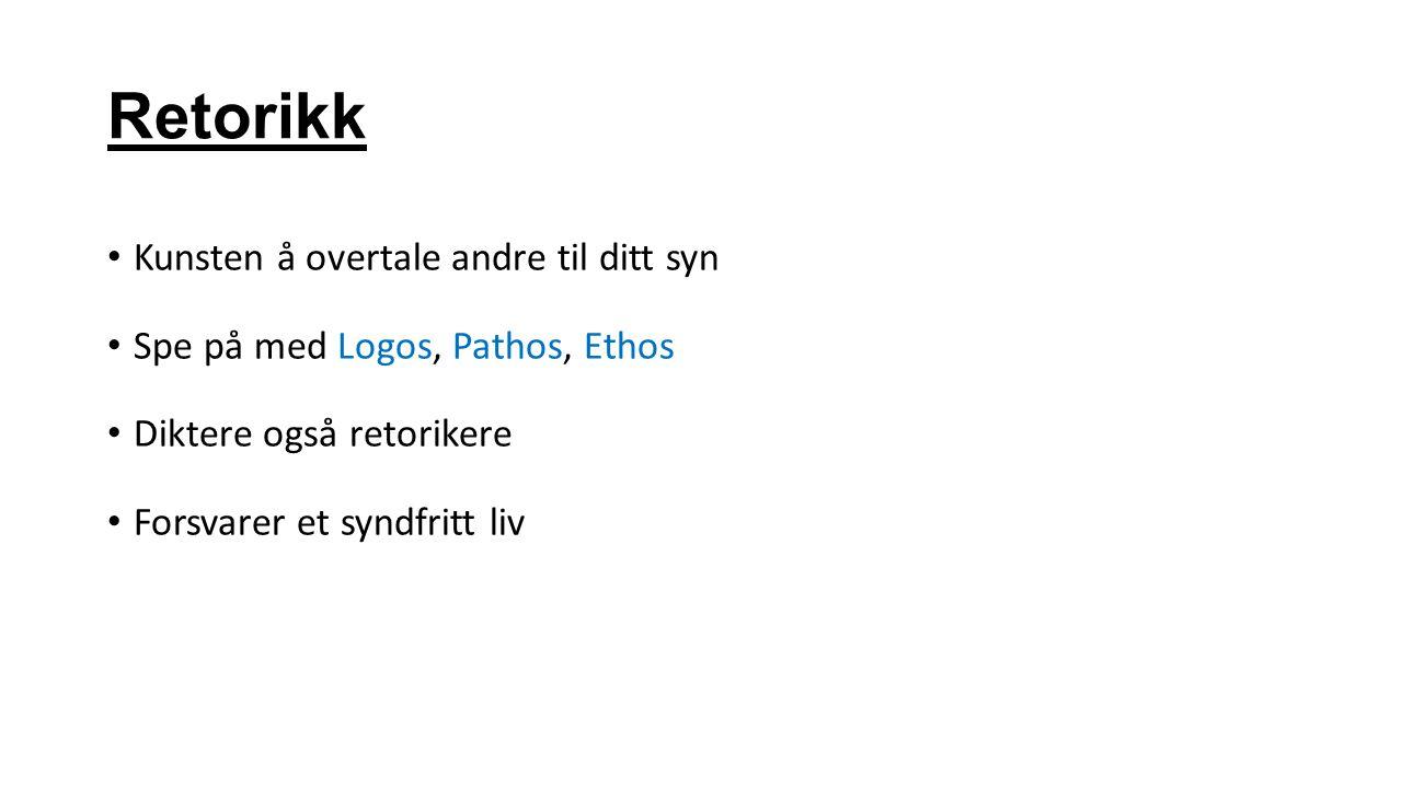 Barokkens største litterære virkemidler ANTI TESEN Kontrast/motsetning.