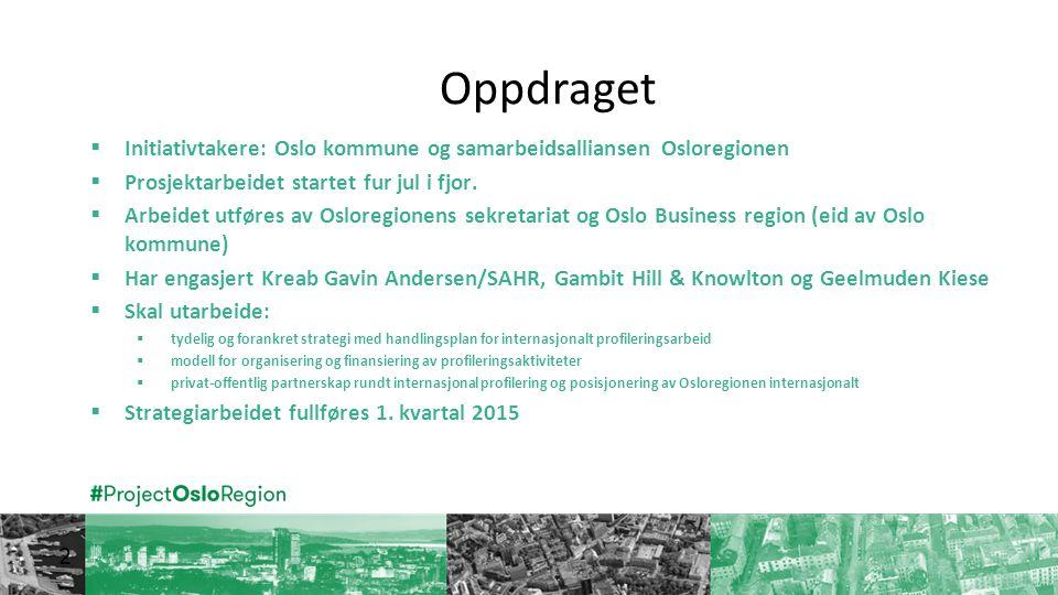 Følg oss:  www.projectosloregion.no  #projectosloregion  Facebook/projectosloregion