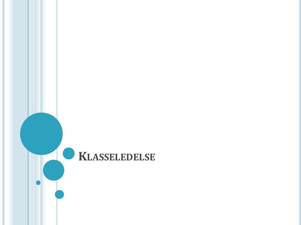 K LASSELEDELSE