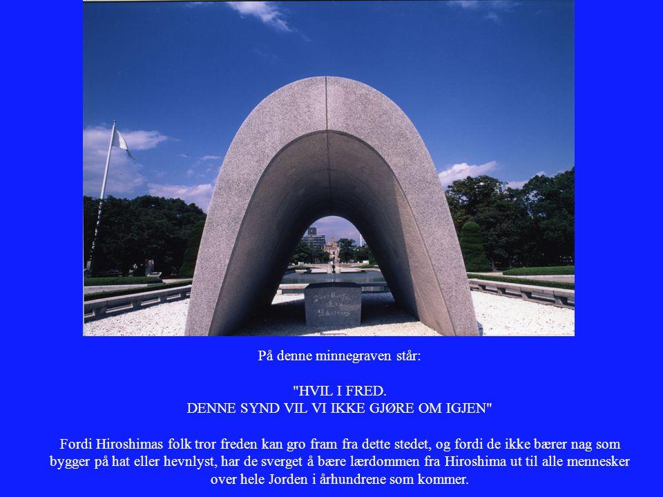 På denne minnegraven står: