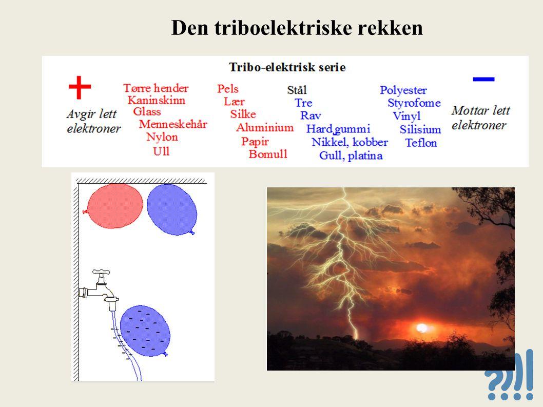 Den triboelektriske rekken