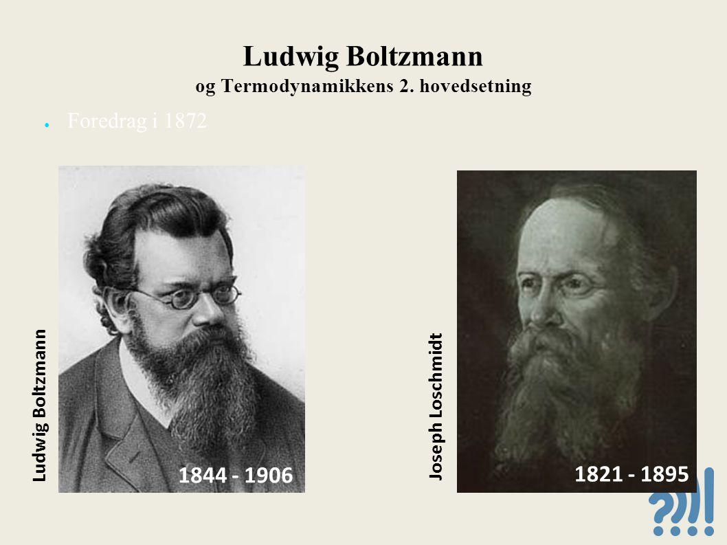 Ludwig Boltzmann og Termodynamikkens 2.