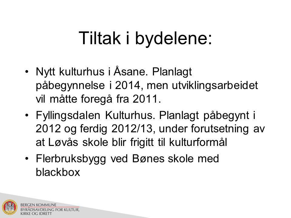 Tiltak i bydelene: Nytt kulturhus i Åsane.