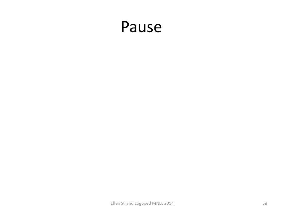 Pause Ellen Strand Logoped MNLL 201458
