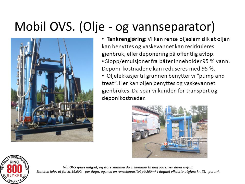 Mobil OVS.