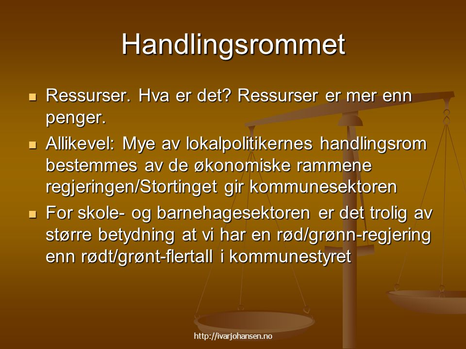 http://ivarjohansen.no Men …..