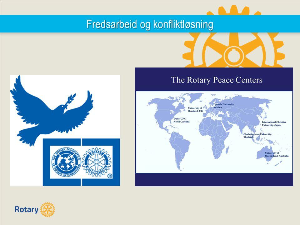 Fredsarbeid og konfliktløsning